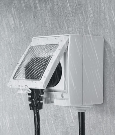 S55 Smart Waterproof Socket